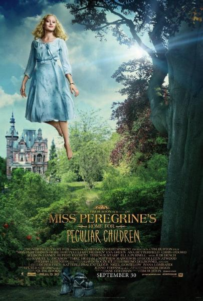 casa bambini speciali Miss Peregrine poster