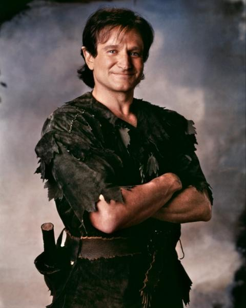 Robin Williams Hook Capitan uncino