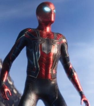 Avengers: Infinity War Spider man iron