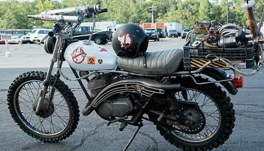 Ghostbusters moto Ecto