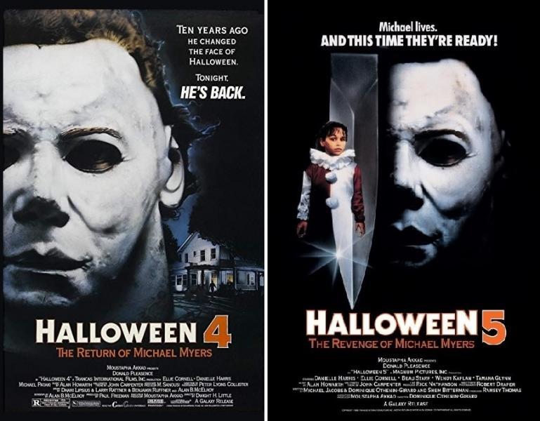 Halloween serie film saga. HALLOWEEN 5  LA VENDETTA DI MICHAEL MYERS ... 9c43d652aec1