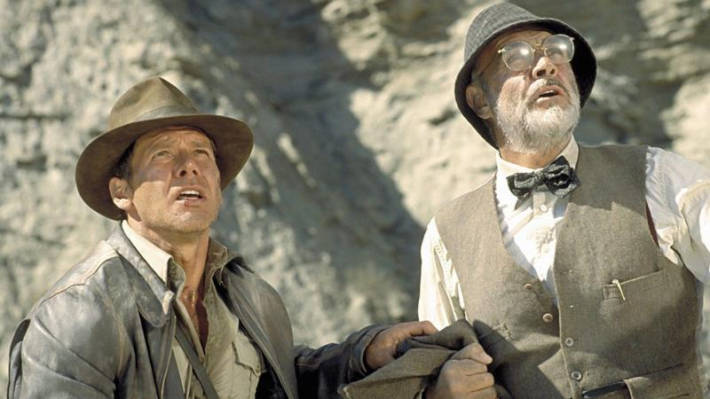 Harrison Ford, Sean Connery, Indiana Jones