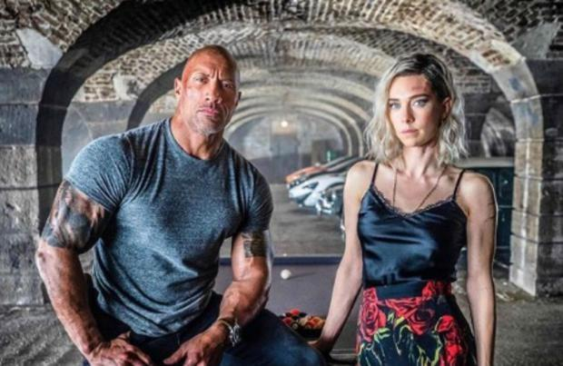 Dwayne Johnson, Hobbs and Shaw, uscita, Vanessa Kirby