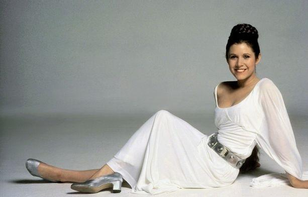 Carrie fisher leila star wars