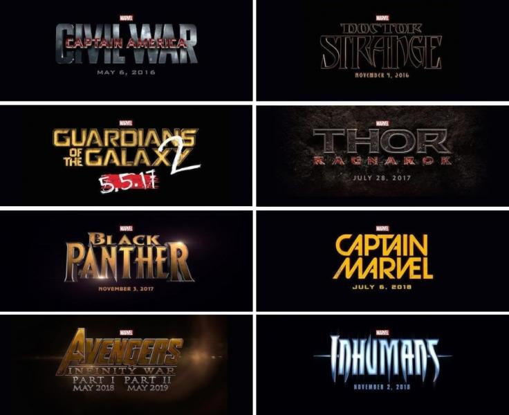 Marvel, film fase 3