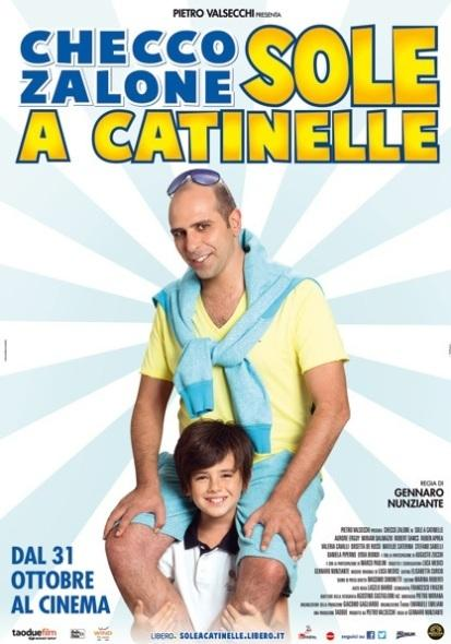 sole a catinelle film zalone poster