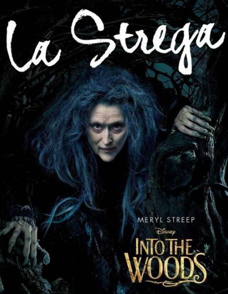 Into the Woods la strega
