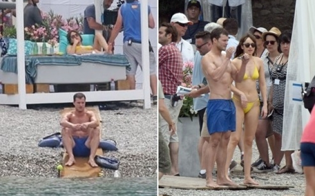 Immagine 41 - Cinquanta sfumature di rosso, foto dal set del film di James Foley con Dakota Johnson e Jamie Dornan