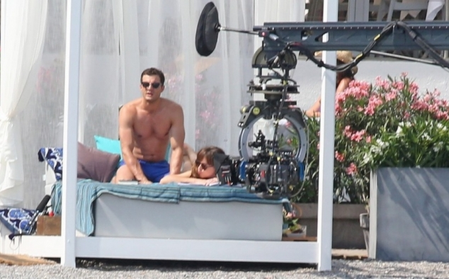 Immagine 43 - Cinquanta sfumature di rosso, foto dal set del film di James Foley con Dakota Johnson e Jamie Dornan