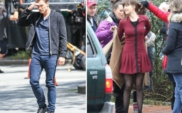 Immagine 36 - Cinquanta sfumature di rosso, foto dal set del film di James Foley con Dakota Johnson e Jamie Dornan