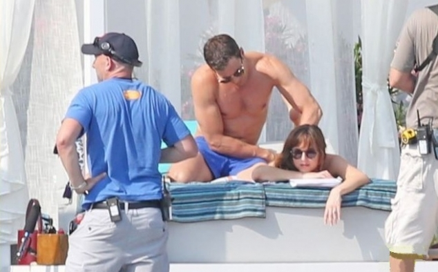 Immagine 37 - Cinquanta sfumature di rosso, foto dal set del film di James Foley con Dakota Johnson e Jamie Dornan