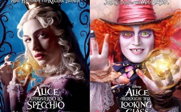 Galleria immagini alice attraverso lo specchio foto e immagini del film - Alice e lo specchio ...
