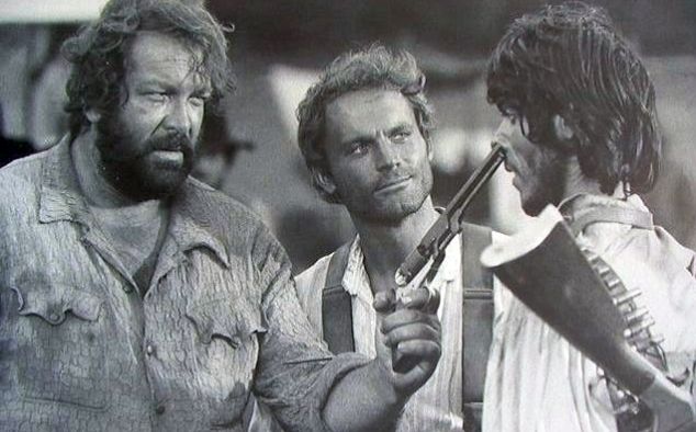 Immagine 11 - Bud Spencer, foto dal ... west