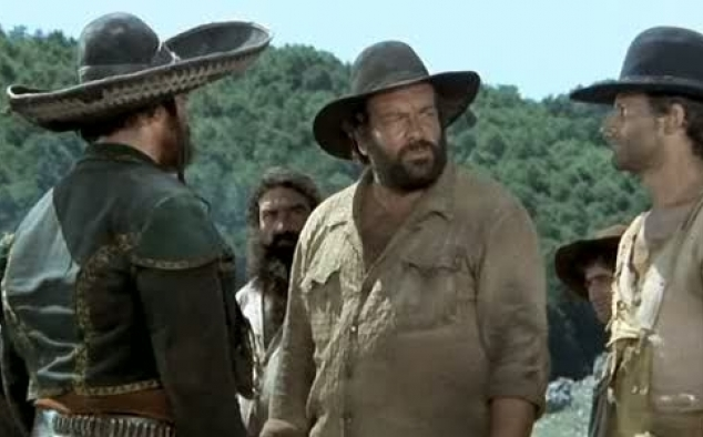 Immagine 12 - Bud Spencer, foto dal ... west