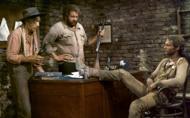 Immagine 17 - Bud Spencer, foto dal ... west