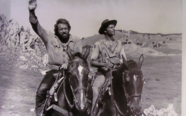 Immagine 18 - Bud Spencer, foto dal ... west