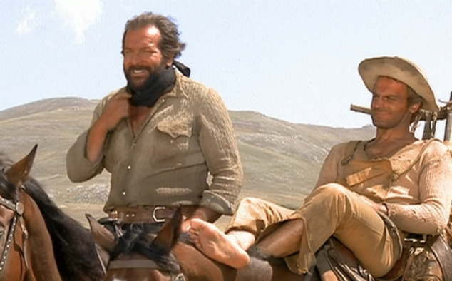 Immagine 2 - Bud Spencer, foto dal ... west