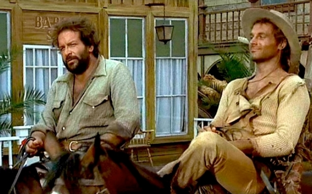 Immagine 7 - Bud Spencer, foto dal ... west