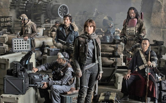 Immagine 35 - Star Wars Anthology: Rogue One, prime foto sul set