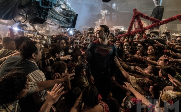 Immagine 91 - Batman VS Superman-Dawn of Justice, foto sul set