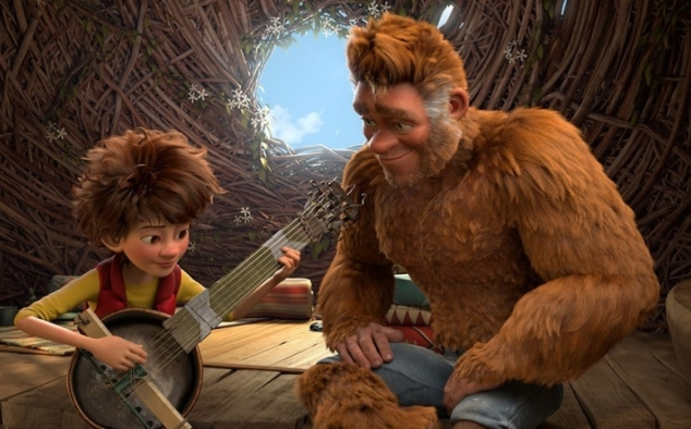 Immagine 2 - Bigfoot junior (The Son of Bigfoot), immagini e disegni tratti dal film