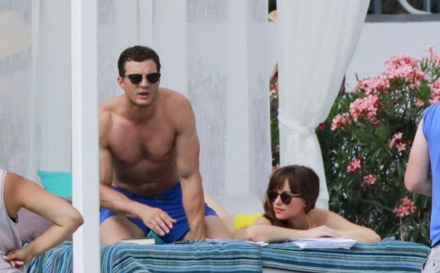 Immagine 44 - Cinquanta sfumature di rosso, foto dal set del film di James Foley con Dakota Johnson e Jamie Dornan