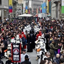 Star Wars Day 2015, Milano