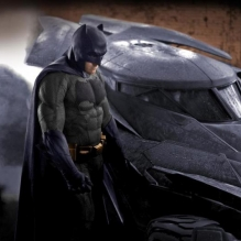 Batman VS Superman sul set di Gotham City